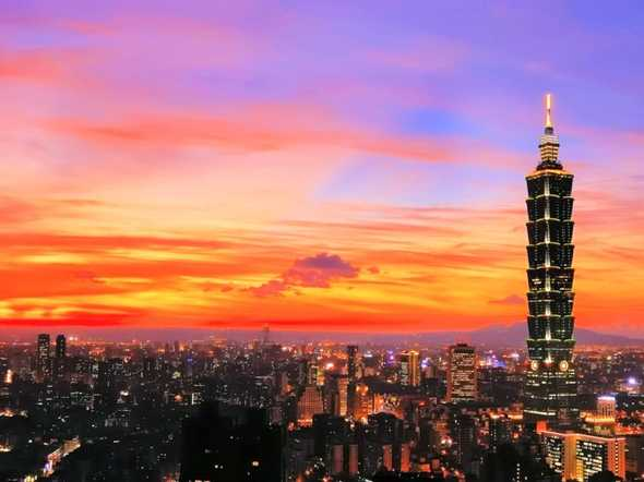2. Taiwan — The country's