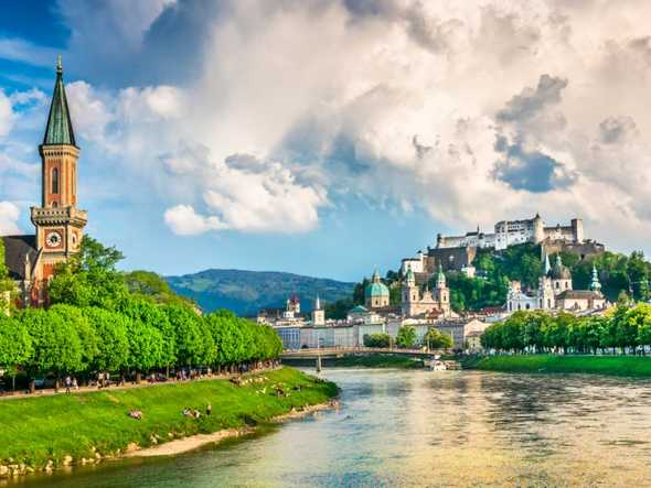 1. Austria — Austria has excellent scores for health and well-being, including the quality of air.